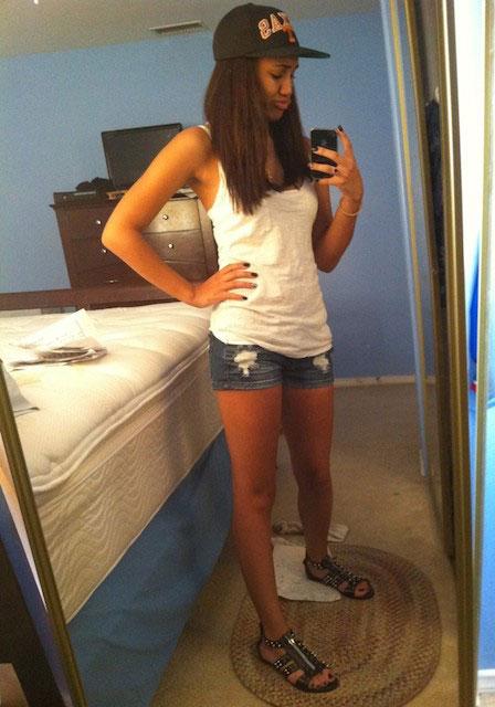 Paige Hurd selfie