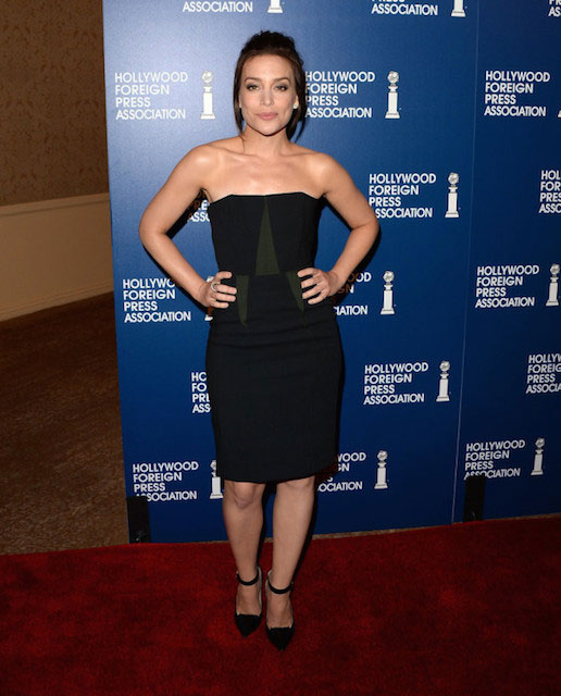 Piper Perabo in Cédric Charlier Hollywood Foreign Press Associations 2013 Installation
