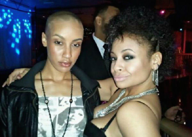 Raven-Symone and AzMarie Livingston
