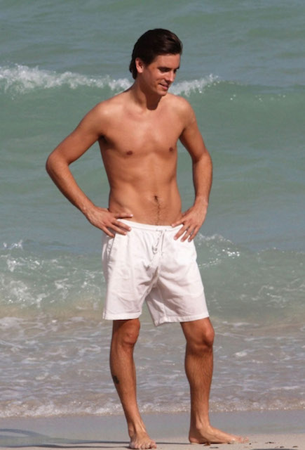 Scott Disick shirtless body