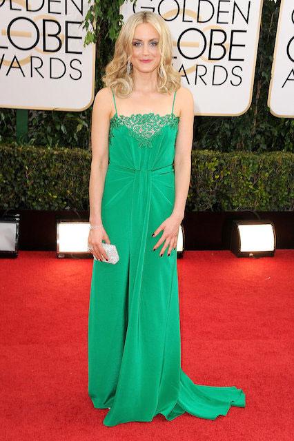 Taylor Schilling during Golden Globe Awards 2014