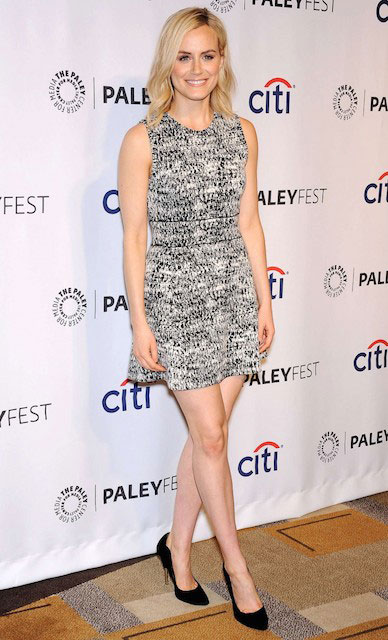 "Taylor Schilling at Paley Fest 2014 ""Orange Is The New Black"""