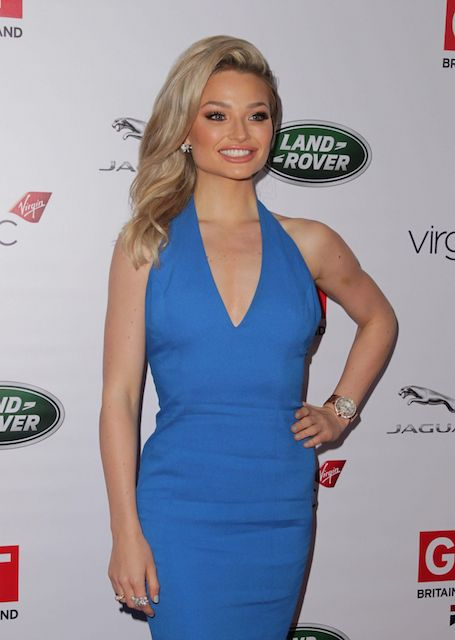 Emma Rigby at 2014 Great British Oscar Reception in Los Angeles