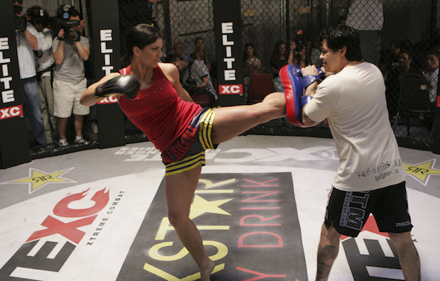 Gina Carano boxing fight