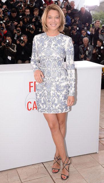 Lea Seydoux during BAFTA's 2014