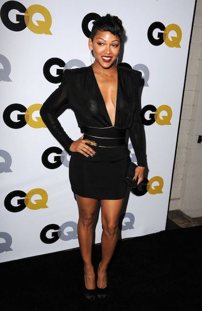 Meagan Good at GQ Men Of Year 2014