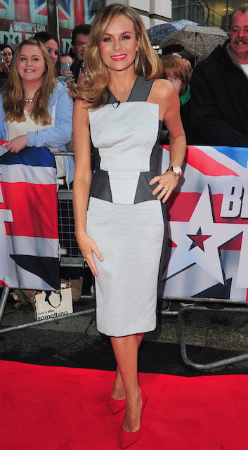 Amanda Holden at Britain's Got Talent 2014 Auditions