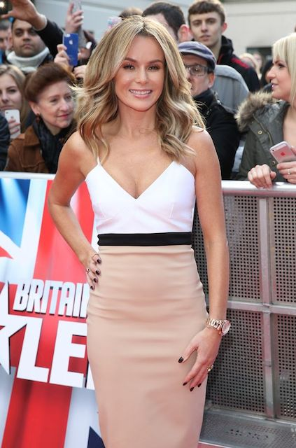 Amanda Holden at Britain's Got Talent Set in London
