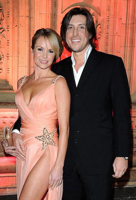 Amanda Holden and her husband Chris Hughes