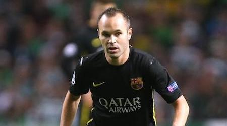 Andrés Iniesta Height, Weight, Age, Body Statistics