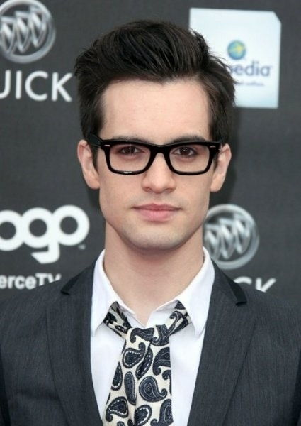 Brendon Urie wearing spectacles