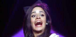 Camila Cabello funny face