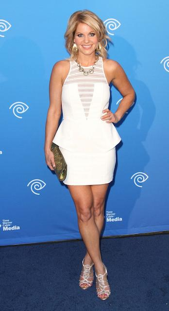 Candace Cameron Bure at Time Warner Cable Media Cabletime upfront event at Hollywood Roosevelt Hotel
