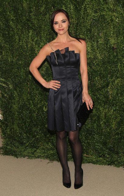 Christina Ricci in Thakoon CFDA and Vogue 2013 Fashion Fund Finalists Celebration