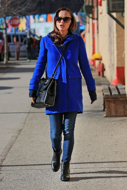 Christina Ricci out in New York City in January 2014