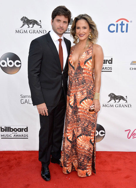 Claudia Leitte and Marcio Pedreira at 2014 Billboard Music Awards