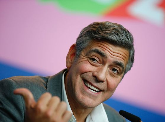 George Clooney expressions
