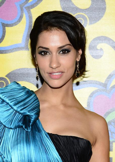 Janina Gavankar in the 64th Primetime Emmy Awards 2012