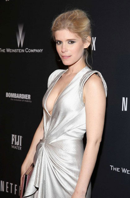 Kate Mara at 2014 The Weinstein Company and Netflix GG after party