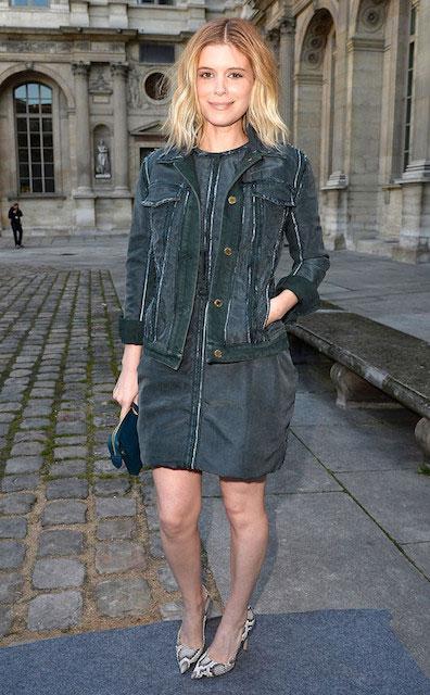 Kate Mara at Paris Fashion Week Fall 2014 Collection