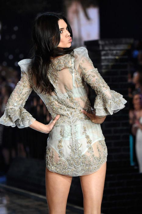 Kendall Jenner at 2015 Victoria's Secret Fashion Show