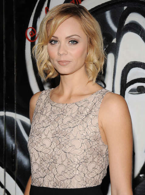 Laura Vandervoort In 2014 Fashion Show in NYC