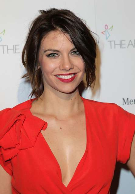 Lauren Cohan during 2014 The Art of Elysiums 7th Annual HEAVEN Gala