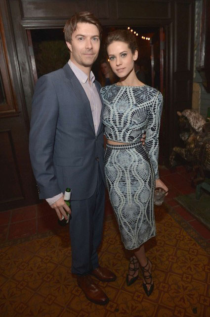 Lyndsy Fonseca and Noah Bean 2014 Vanity Fair & FIAT Event