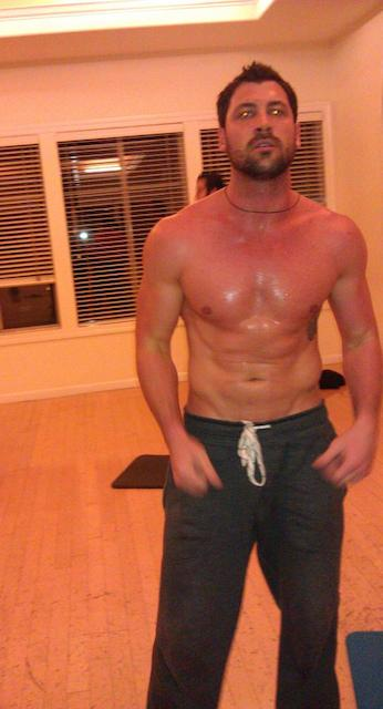Maksim Chmerkovskiy shirtless