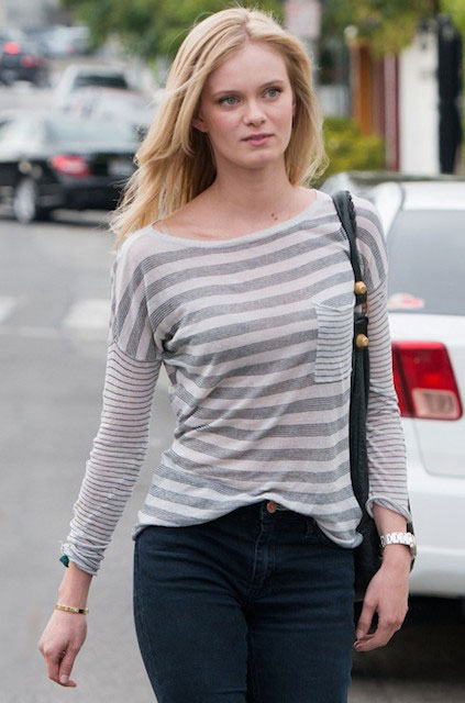 Sara Paxton leaves Ken Paves Salon in Los Angeles