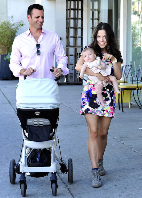 Tammin Sursok and Sean McEwen with family