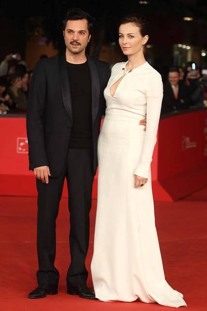 Violante Placido and Massimiliano D'Epiro during Rome Film Festival