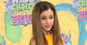 Ariana Grande at 27th Nickelodeon's Kids Choice Awards 2014