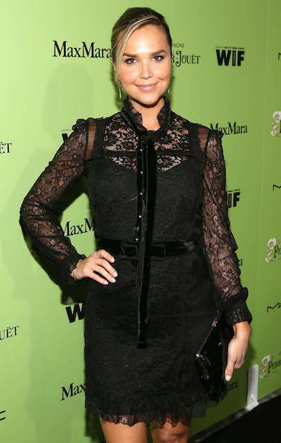 Arielle Kebbel at 2014 Women In Film Pre Oscar Cocktail Party