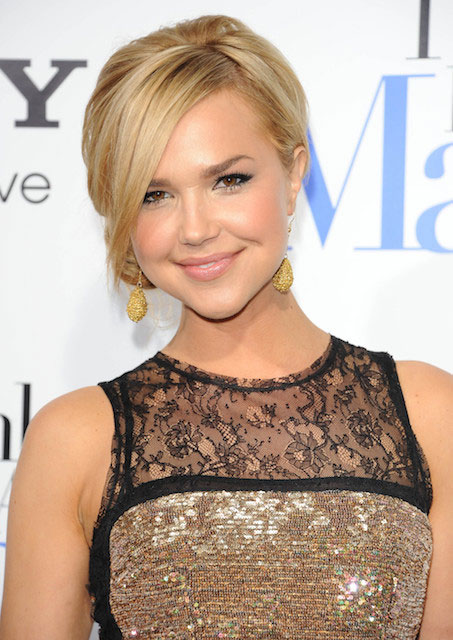 "Arielle Kebbel at ""Think Like A Man"" Hollywood Premiere held on February 9, 2012."