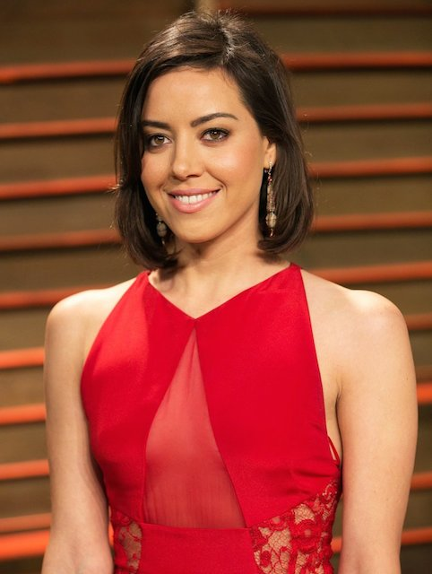 Aubrey Plaza at 2014 Vanity Fair Oscar Party