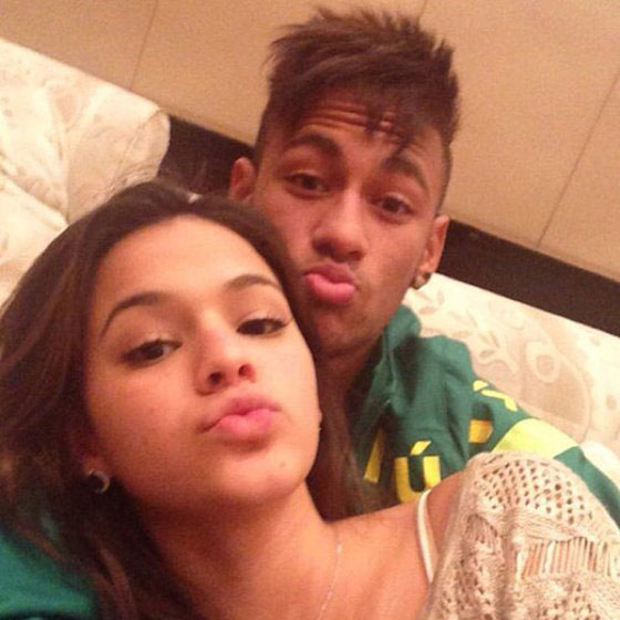 Bruna Marquezine and Neymar Jr.