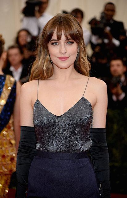 Dakota Johnson at Met Gala 2014