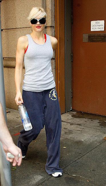 Gwen Stefani workout