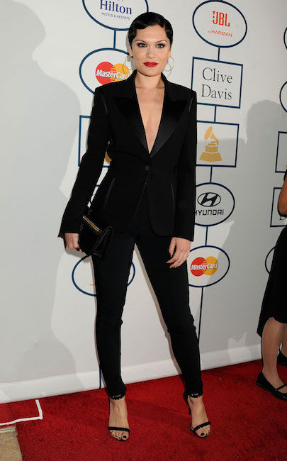 Jessie J at 2014 Pre-Grammy Gala in Beverly Hills