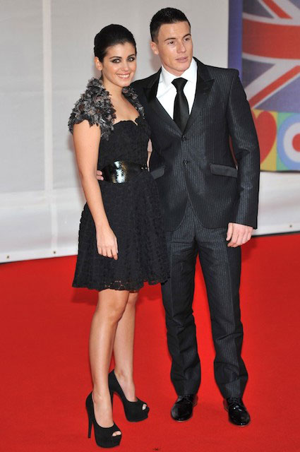 Katie Melua and James Toseland at BRIT Awards 2012