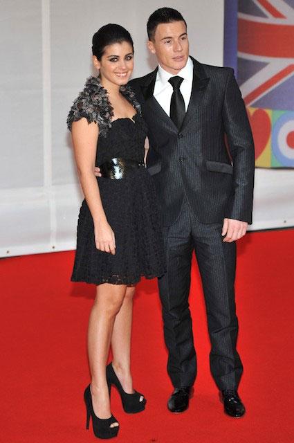 Katie Melua and James Toseland at BRIT Awards 2012