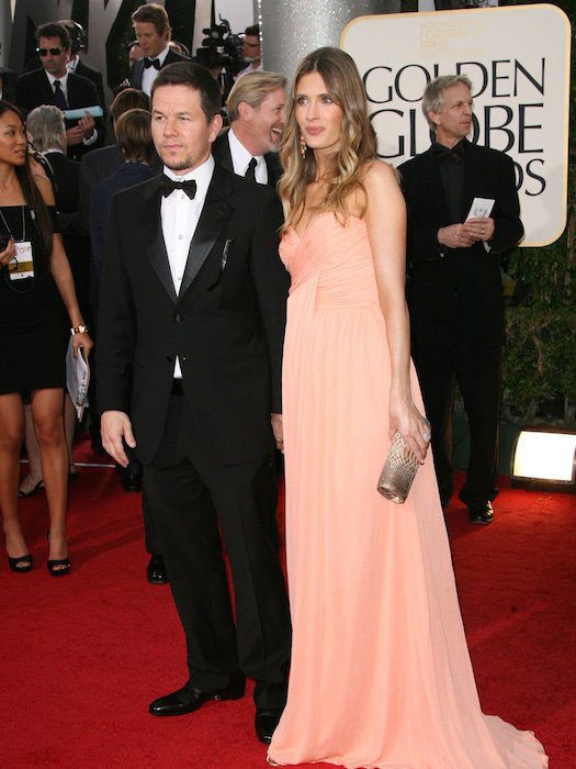 Mark Wahlberg and Rhea Durham at 2014 Golden Globe Awards