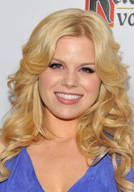 Megan Hilty face closeup