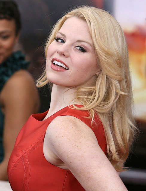 Megan Hilty freckles