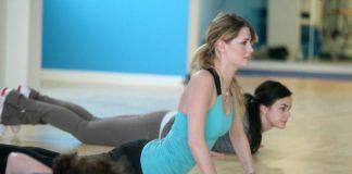 Mischa Barton workout