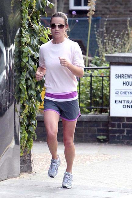 Pippa Middleton running workout