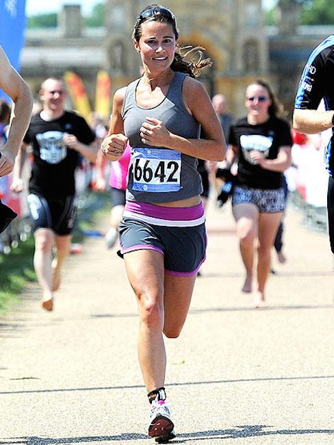 Pippa Middleton running
