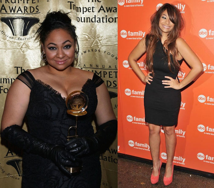Raven-Symone weight loss and gain