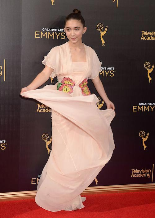 Rowan Blanchard at Creative Arts Emmy Awards in September 2016